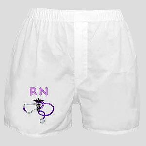 RN Nurse Medical Boxer Shorts