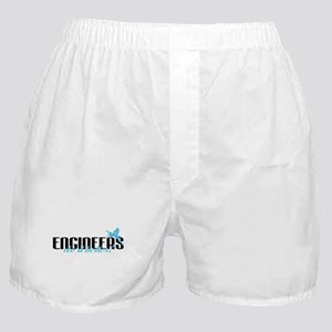 Engineers Do It Better! Boxer Shorts