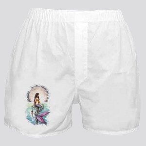 enchanted sea transparent Boxer Shorts