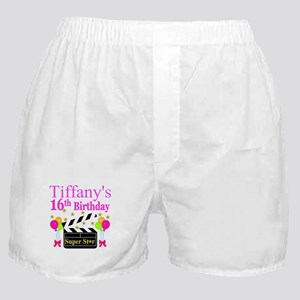 PERSONALIZED 16TH Boxer Shorts