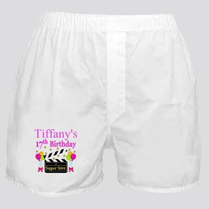 PERSONALIZED 17TH Boxer Shorts