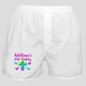 LOVING GOD 40TH Boxer Shorts