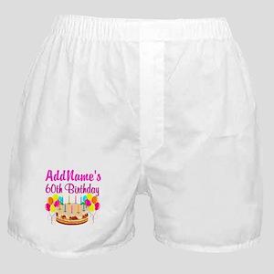 AMAZING 60TH Boxer Shorts