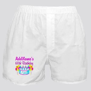 AWESOME 60TH Boxer Shorts