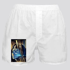 Vintage Iconic Metropolis Movie Boxer Shorts