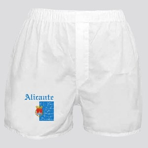 Alicante flag designs Boxer Shorts