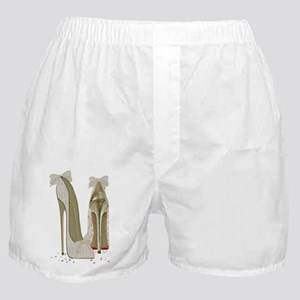 Wedding High Heel Stilettos Art Boxer Shorts