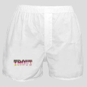 Rainbow TROUT Boxer Shorts