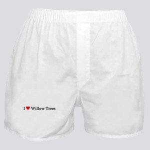 I Love Willow Trees Boxer Shorts