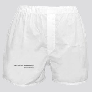 how it stands up is someone e Boxer Shorts
