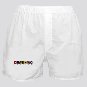 Nautical Belgium Boxer Shorts