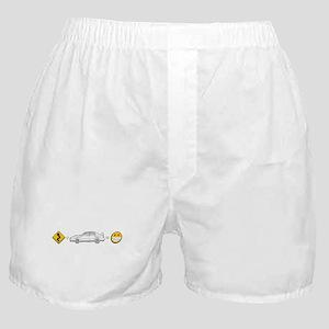 curves subaru fun Boxer Shorts