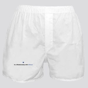 Allison Relationship Boxer Shorts