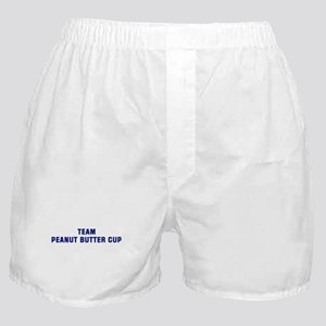 Team PEANUT BUTTER CUP Boxer Shorts