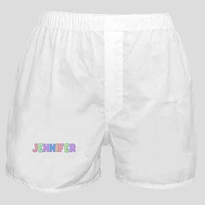 Jennifer Rainbow Pastel Boxer Shorts