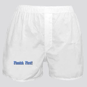 Finnish First! Boxer Shorts