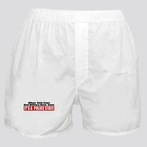 Police State Boxer Shorts