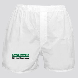 It's the Hardware Boxer Shorts