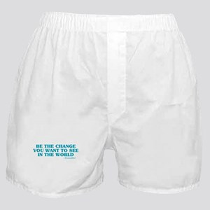 Be The Change You Want Boxer Shorts