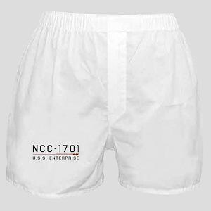 USS Enterprise Original Dark Boxer Shorts
