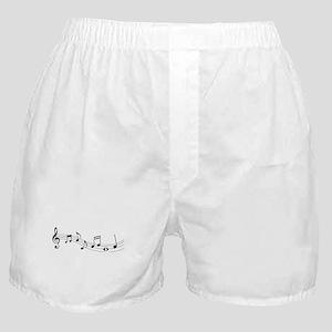 Music Notes Boxer Shorts