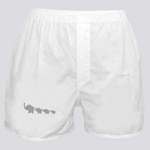 Elephants Design Boxer Shorts