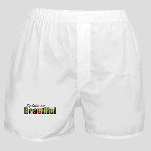 big beautiful ladies Boxer Shorts