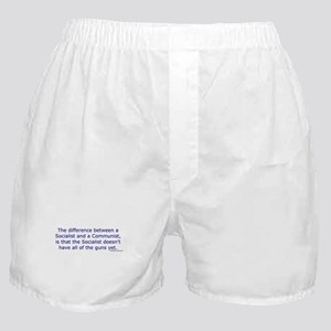 Socialist and Communist Boxer Shorts