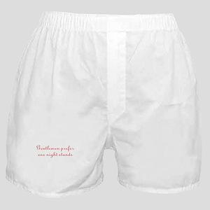 Gentlemen One Night Stands Boxer Shorts