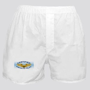 Pilot Wings (gold on blue) Boxer Shorts