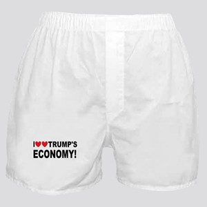 I Love Trump's Economy Boxer Shorts