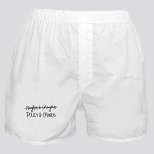 Policy & Change Boxer Shorts