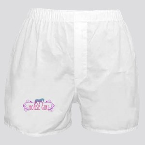 Horse Girl Boxer Shorts