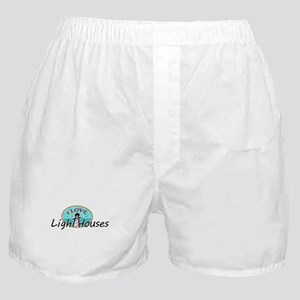 I Love Lighthouses Boxer Shorts