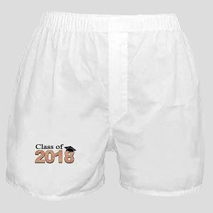 Class of 2018 Glitter Boxer Shorts