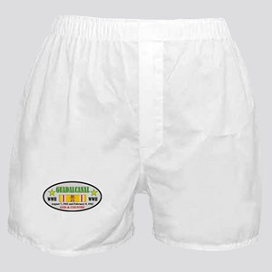 BATTLE OF GUADALCANAL WORLD WAR II Boxer Shorts