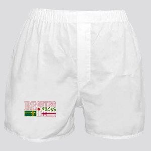 REGIFTING ROCKS Boxer Shorts