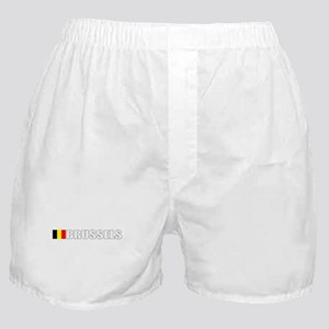 Brussels, Belgium Boxer Shorts