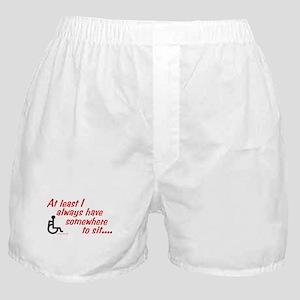 Somewhere to sit Boxer Shorts