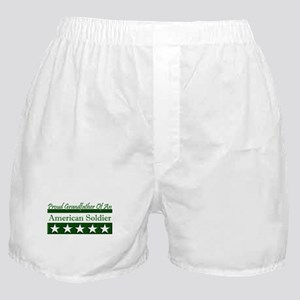 Grandfather of American Soldi Boxer Shorts