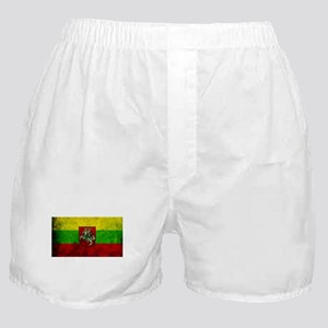 Lithuania Flag Boxer Shorts
