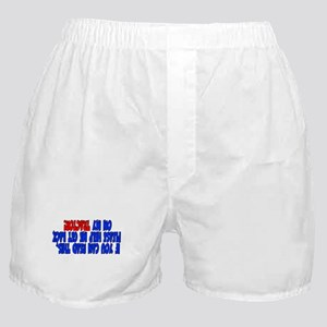 If you can read this TRACTOR Boxer Shorts