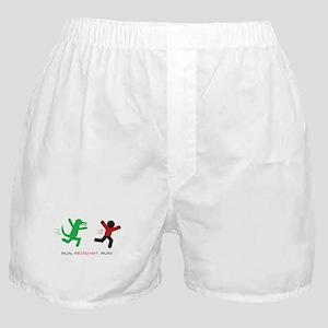 Run, Redshirt, Run! Boxer Shorts