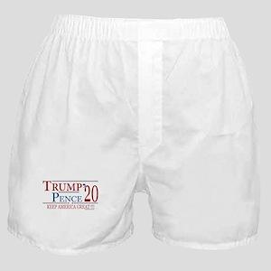 TRUMP | Trump Pence 2020 Keep America Boxer Shorts