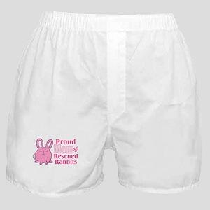Rescued Rabbits Mom Boxer Shorts