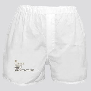 Coffee Then Architecture Boxer Shorts
