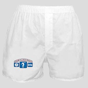 Life's Priorities Discus Boxer Shorts