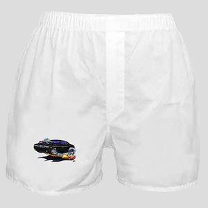 Challenger Black Car Boxer Shorts