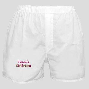 Peter's Girlfriend Boxer Shorts