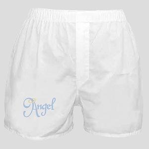 Angel Text Boxer Shorts